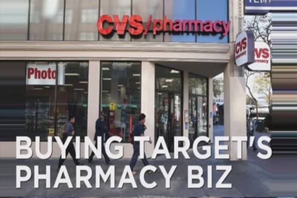 will drug prices rise if cvs buys target u0026 39 s pharmacy business