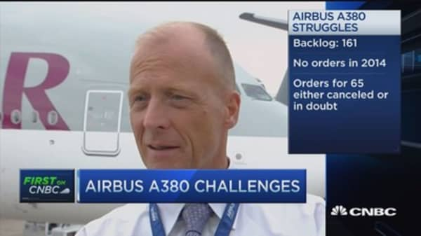 Airbus: Not another breaking Paris Air Show, not bad