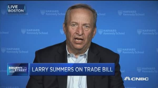 Larry Summers: Setback to American leadership on trade