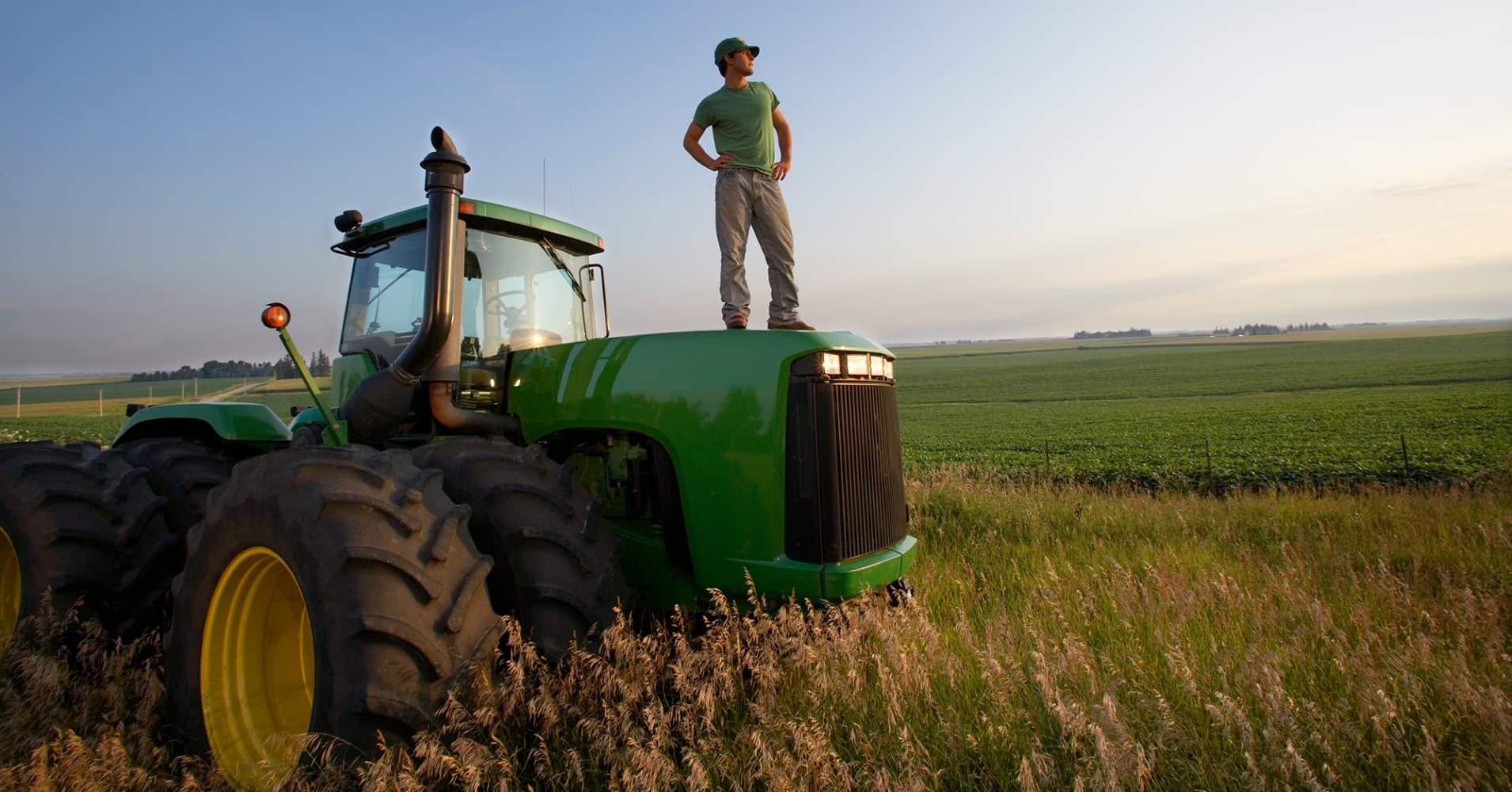 Iowa farmer.