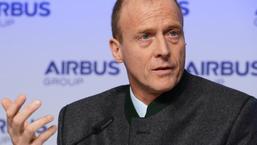 Tom Enders Chief Executive Officer of Airbus Group