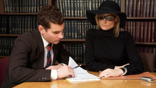 Reading last will lawyer