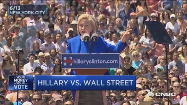 Hillary vs. Wall Street
