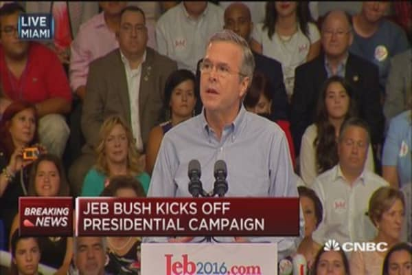 Jeb Bush announces 2016 presidential run