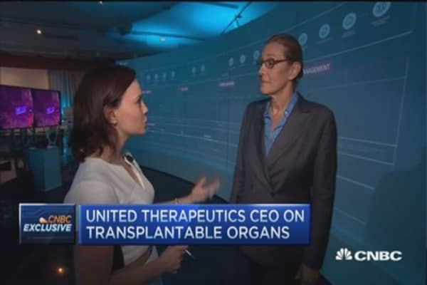 UTHR CEO: Future of biotech