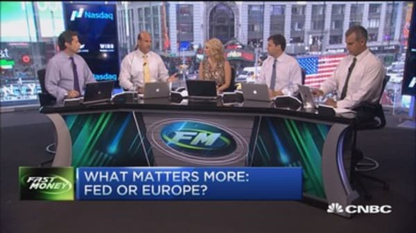 What matters more: Fed or Europe?
