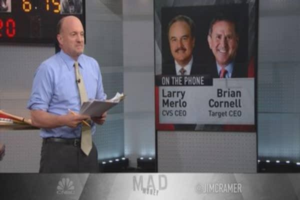 CVS, Target deal win-win: Cramer