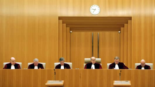 The Grand Chamber at the European Court of Justice