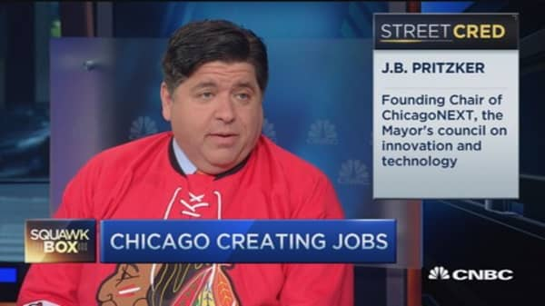 Attracting business to Chicago