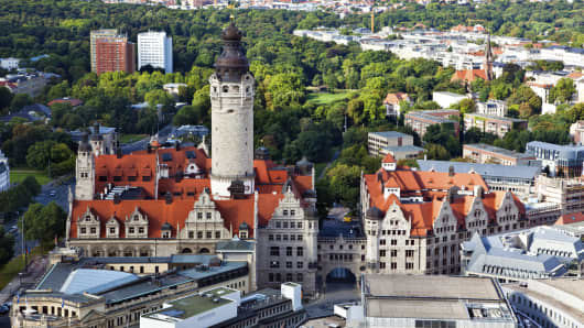 Leipzig is gearing up for a year of festivities.