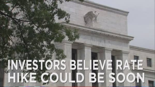 Investors looking for fed rate hike