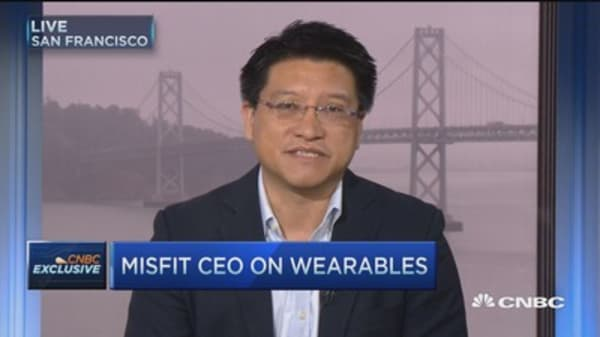 Trying to make wearables easy: Misfit CEO