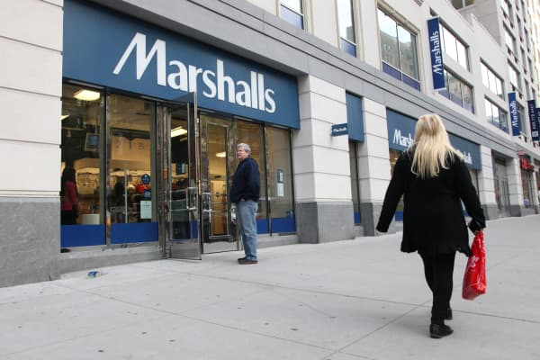 A Marshalls store in New York