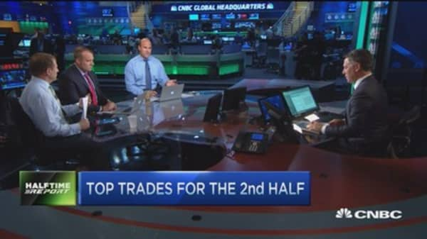 Top trades for the 2nd half: Financials & health care