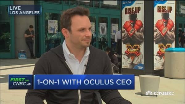 This virtual reality experience will be the best: Oculus CEO