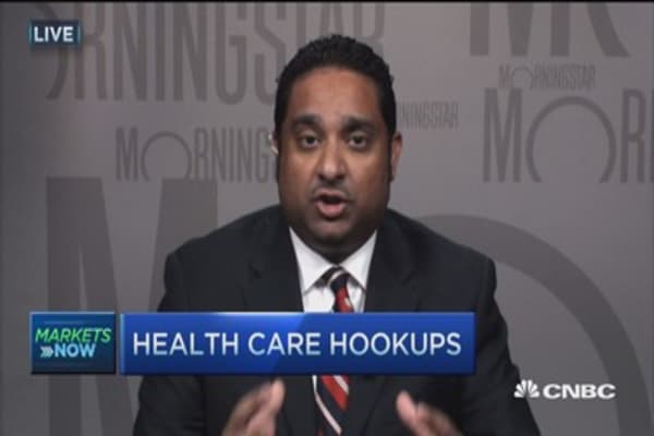 Health care hookups: Who's next?