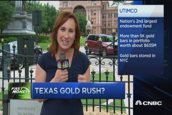 Texas gold rush