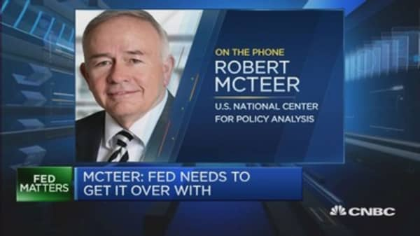 Don't overlook a Fed hike in July: McTeer