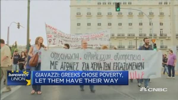 No serious adjustment taking place in Greece: Prof