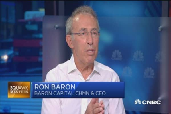 Ron Baron: Fed trying to devalue your money