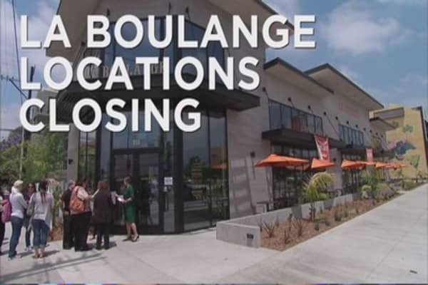 Starbucks to close all La Boulange locations