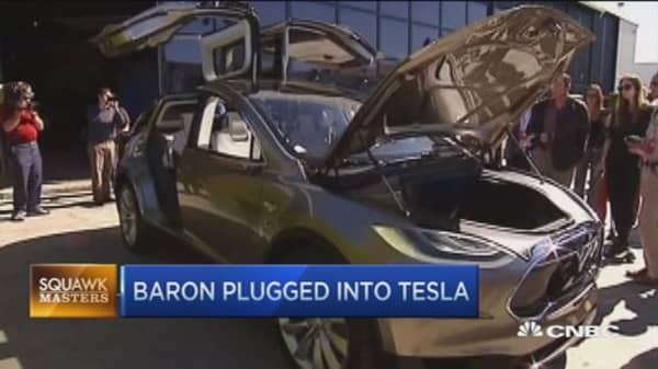 I love Tesla, a huge opportunity: Ron Baron