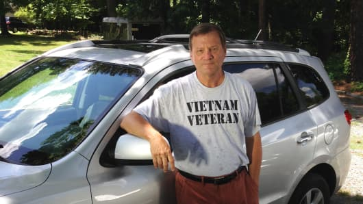 Don Eason is 64 and drives part-time for Uber in North Carolina.