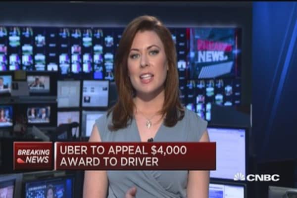 Uber drivers are employees: Calif. ruling