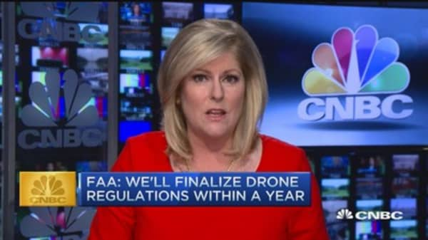 CNBC update: FAA to finalize drone regulations