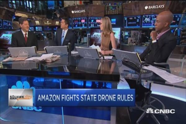 Amazon fights state drone rules