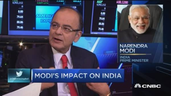 India's Finance Minister: Modi's impact