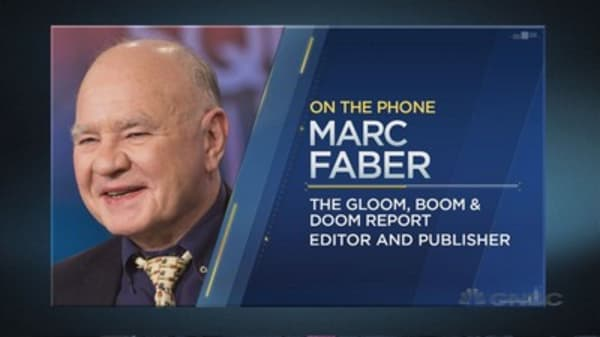 Marc Faber on the Fed