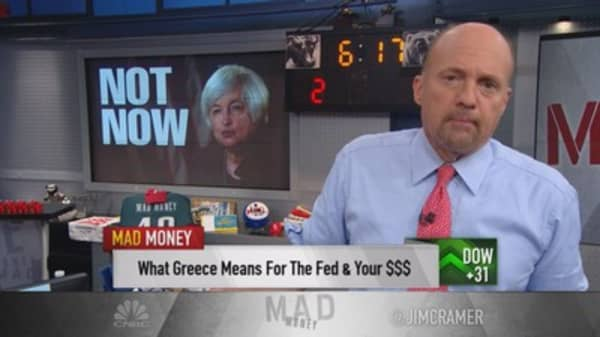 Cramer: How to play today's Fed meeting