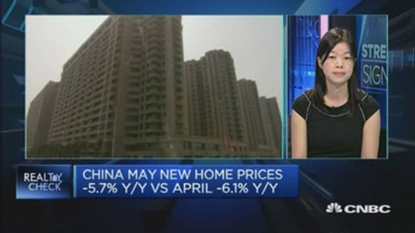 China May home prices show signs of stability: DBS
