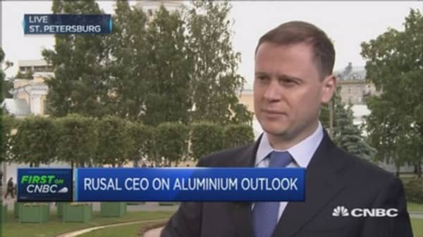 Rusal CEO discusses the outlook for aluminum