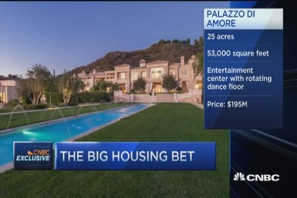 $195 million housing bet