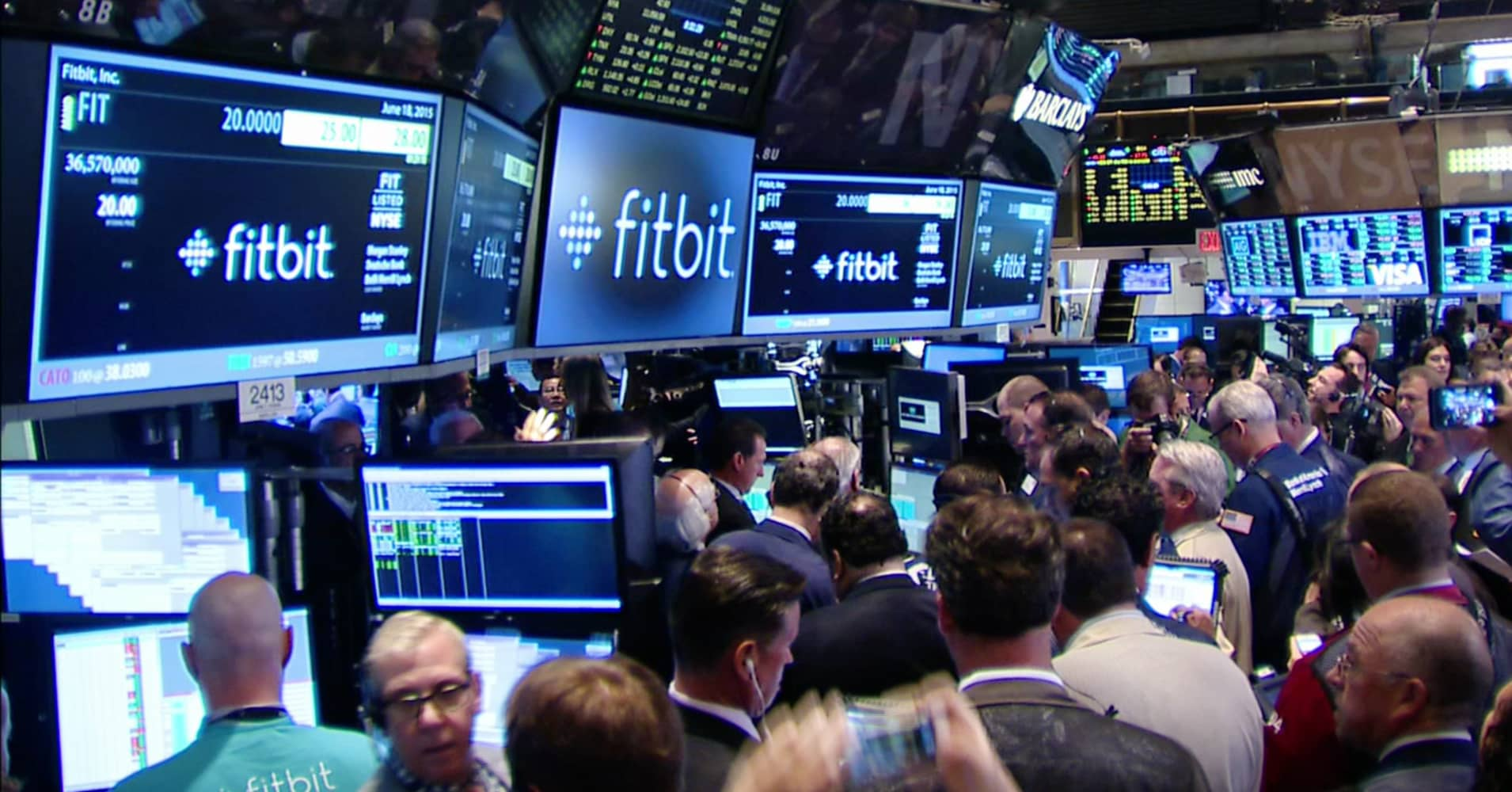 Fitbit Stock Quote Fitbit Soars 20% On Second Trading Day