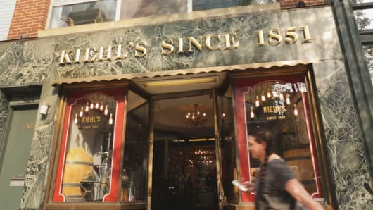 Kiehl's flagship store on Third Avenue in New York