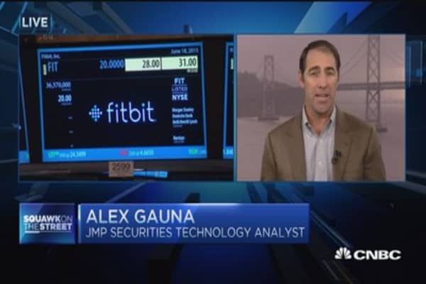 Analyst says Fitbit 'clear leader'