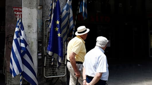 Greece economy nears default as debt talks halt