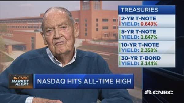 Prepare for lower returns on equities: Bogle