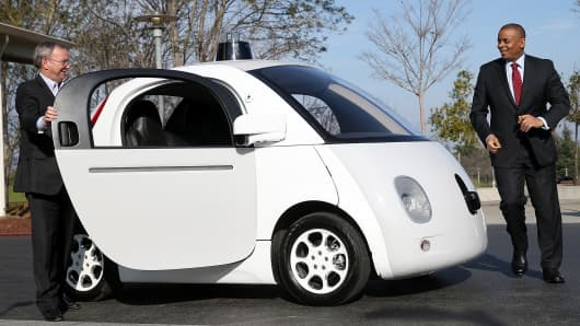 Google's Waymo Teams With Intel on Self Driving Technology