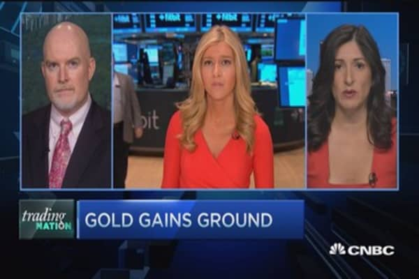 Gold gains ground: Trading Nation