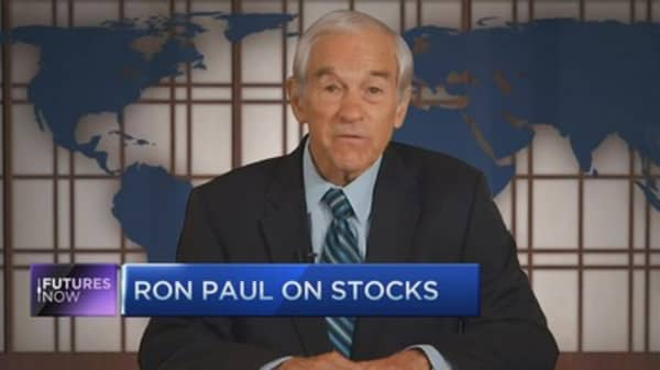 Ron Paul: Stock market 'day of reckoning' is near