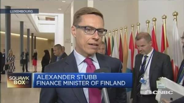 Finnish Fin Min: Greek talks are at a dead end