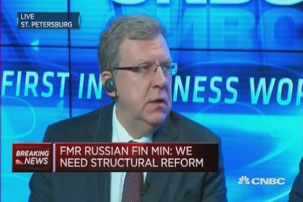 Russia needs structural reform: Kudrin