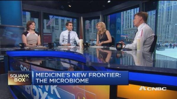 Microbiome changing human health
