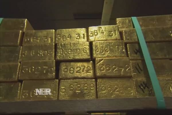 Texas gold rush?