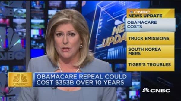 CNBC update: Obamacare costs