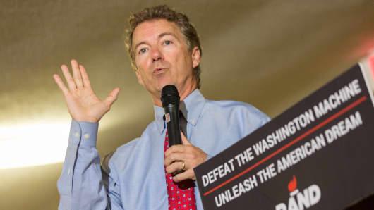 GOP presidential candidate U.S. Sen. Rand Paul (R-KY).
